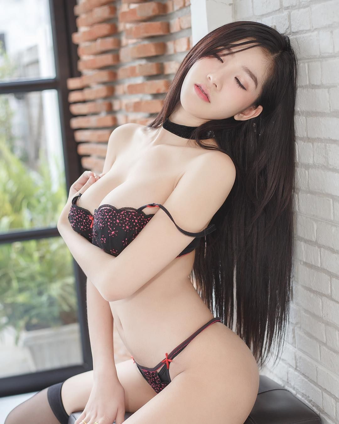 Asian model seduced sample asian